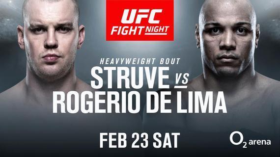 """""""摩天轮""""斯特鲁夫VS马库斯-利马UFC布拉格赛开战"""