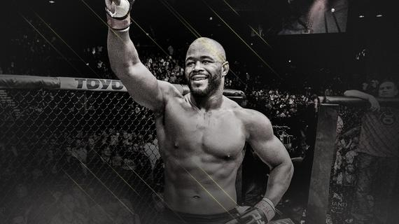 """""""蜜糖""""拉沙德-埃文斯入选UFC名人堂当代名人单元"""