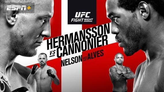 UFC格斗之夜160前瞻:赫尔曼森哥本哈根对决康恩尼尔