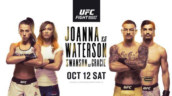 UFC格斗之夜161前瞻:乔安娜VS沃特森冠军挑战权之争