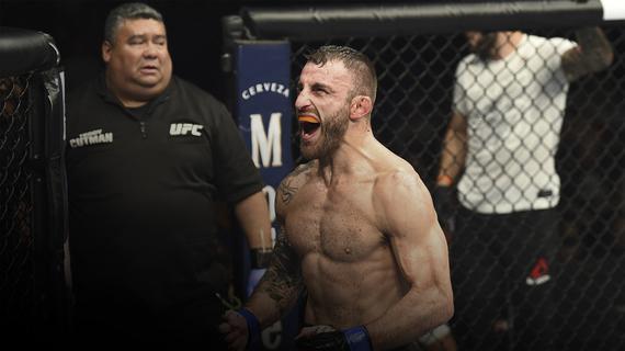 沃尔卡诺夫斯基:我与霍洛威的对决将成为UFC245真正亮点
