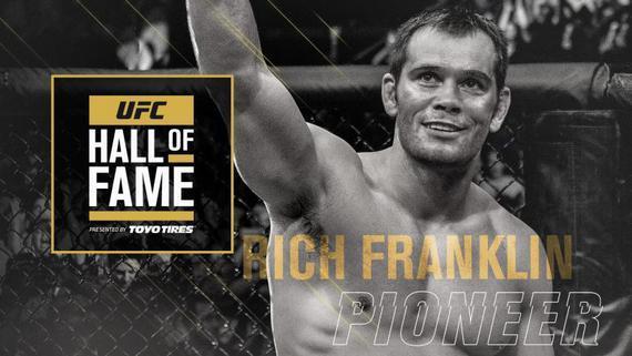 """里奇-富兰克林入选2019年UFC名人堂""""先锋名人""""单元"""