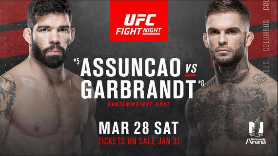 前冠军加布兰特UFC on ESPN 8对阵巴西名将阿松桑