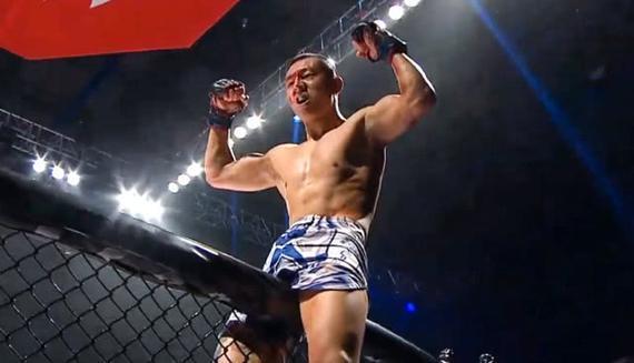 UFC深圳赛再增一中国选手 吕振鸿紧急替补出战埃夫洛夫