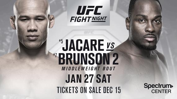 """""""鳄鱼""""索萨将在UFC on FOX 27中与伯恩森进行二番战"""