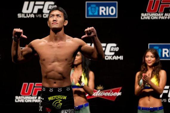 日本最著名的MMA选手之一冈见勇信