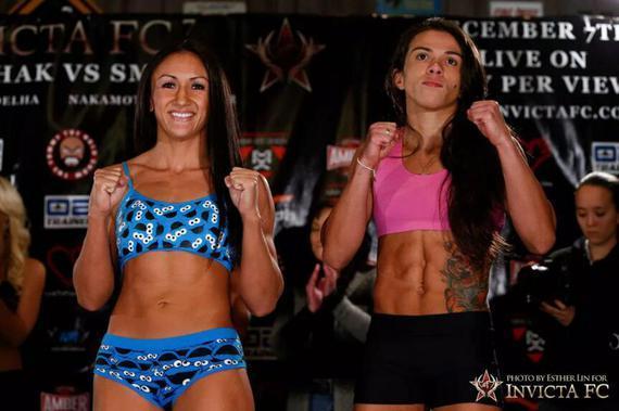 卡拉(左)与克劳迪娅的恩怨对决将于UFC225上演