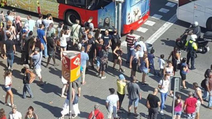 中国游客讲述巴塞罗那恐袭惊魂一刻