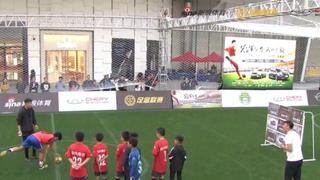 足金芜湖站九宫格射门挑战