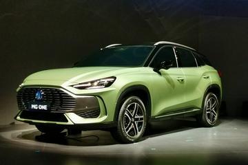 采用多元化设计 名爵全新SUV——MG ONE正式亮相