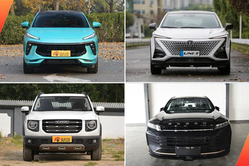 15万级中国品牌紧凑型SUV 这些产品特点非常鲜明