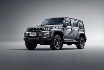 全新BJ40环塔冠军版开启预售 价格为21.49万元