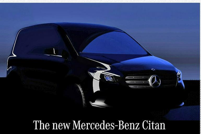 定位于小型商用车 新一代奔驰Citan将发布