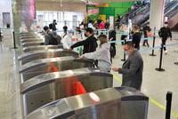 2秒通行 杭州機場投運15條健康碼全自助驗證通道