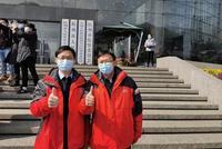 杭州兩位心理專家在武漢 他們是264位醫護的心靈導師