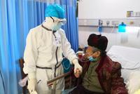 告別武漢的浙江醫護人員 記錄下了這些感人瞬間