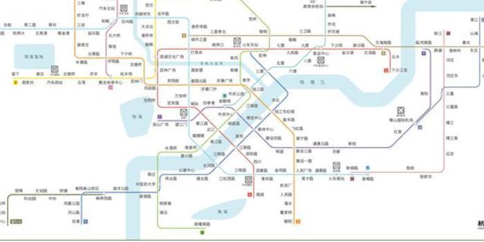 杭州又有3条地铁通过专家评审 10号线将可与6条线换乘图片