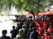 南湖儿女红船旁收看十九大盛况