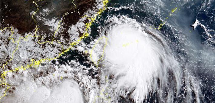 台风黑格比来袭