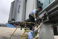 杭州机场积极应对台风利奇马 已完成场内水位预降