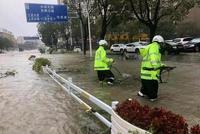 消防、交警、电力人员 这些人冲在浙江救援第一线