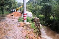浙江余杭发生泥石流导致断电 电力部门正在抢修