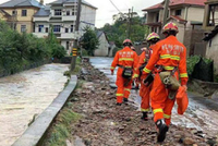 浙江余杭突降暴雨致房屋倒塌30余间 转移群众1300余人