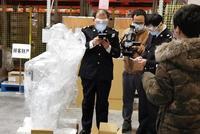 杭州海關上門驗放零延時 救命設備即時發往各地醫院