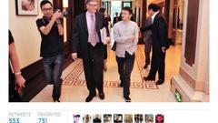 比尔-盖茨发布Twitter消息称与马云共商慈善