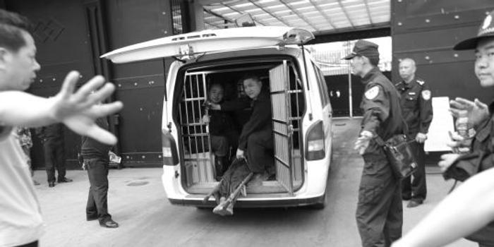 广东越狱犯无视地被指脱逃频浮动卡盘设施老监狱视频监控图片