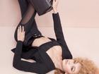 网红超模时尚广告大片秀美腿