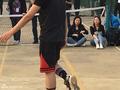 吴亦凡现身高校打篮球