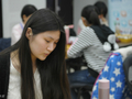 高清-梦百合杯女棋手特写 黑嘉嘉惊艳吴侑珍可爱