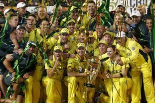 澳大利亚夺板球世界杯