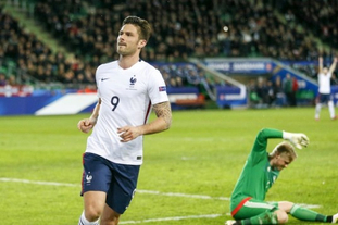 [热身赛]法国2-0丹麦