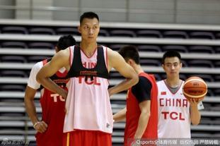 中国男篮备战训练