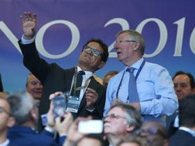 各界名流观战欧冠决赛