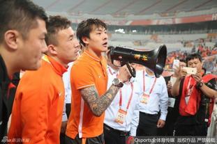 王大雷劝说球迷离场