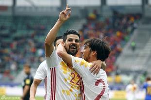 西班牙3-1波黑