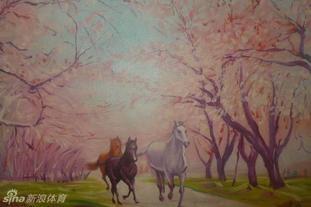那些画中有神韵的马儿