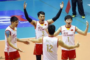 亚洲杯中国男排二队3-0泰国