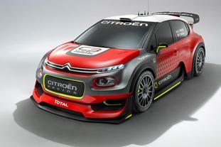 雪铁龙2017WRC赛车C3 WRC
