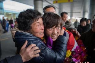 朝鲜女足U20夺冠回国巡游