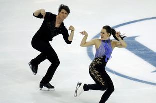 花滑大奖赛总决赛冰舞短舞蹈