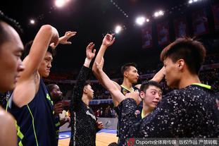 广东庆祝时隔4年重回总决赛