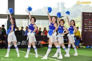 足金联赛重庆站啦啦队热舞来袭