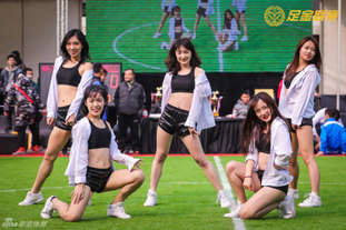 足金联赛总决赛啦啦队热舞来袭