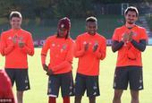 拜仁训练备战德国杯