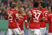 [德国杯]拜仁慕尼黑3-1奥格斯堡