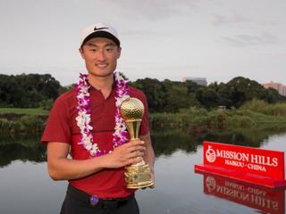 观澜湖明星赛李昊桐夺冠 中国球手首次加冕